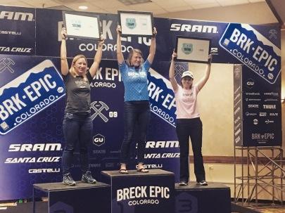 Final podium